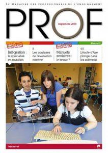 couverture du magazine Prof numéro 3