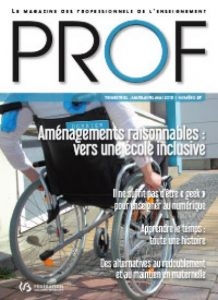 Couverture du magazine prof numéro 37