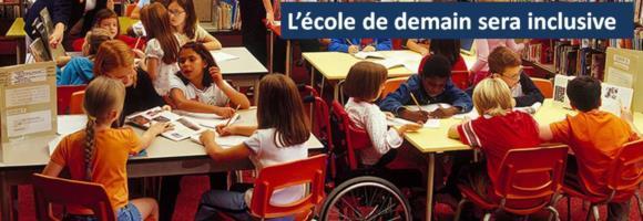 """Bannière LDE """"Ecole inclusive"""""""